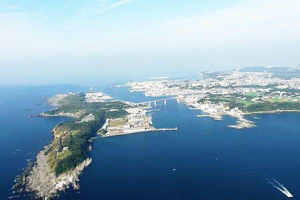 三崎漁港全景