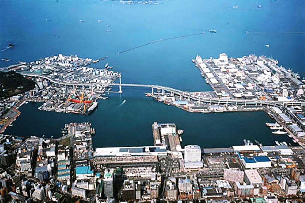 博多漁港全景