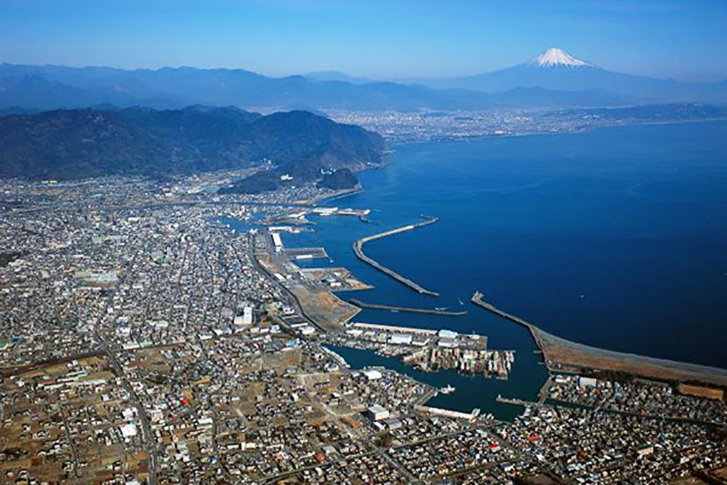 焼津漁港全景