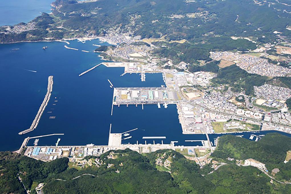 長崎漁港(三重地区)全景写真