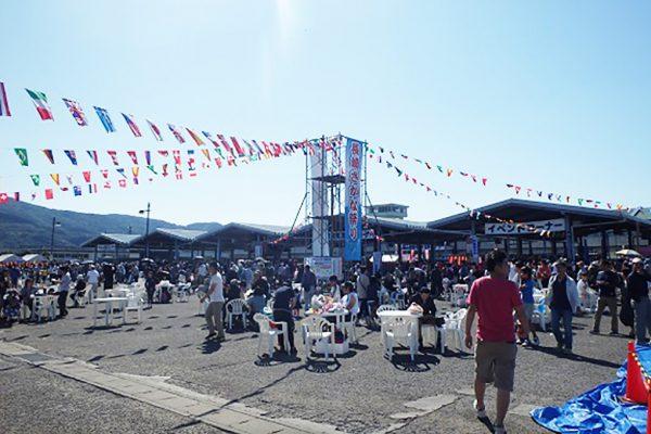 長崎さかな祭り風景