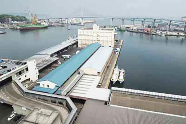 鮮魚市場(突堤売場棟)