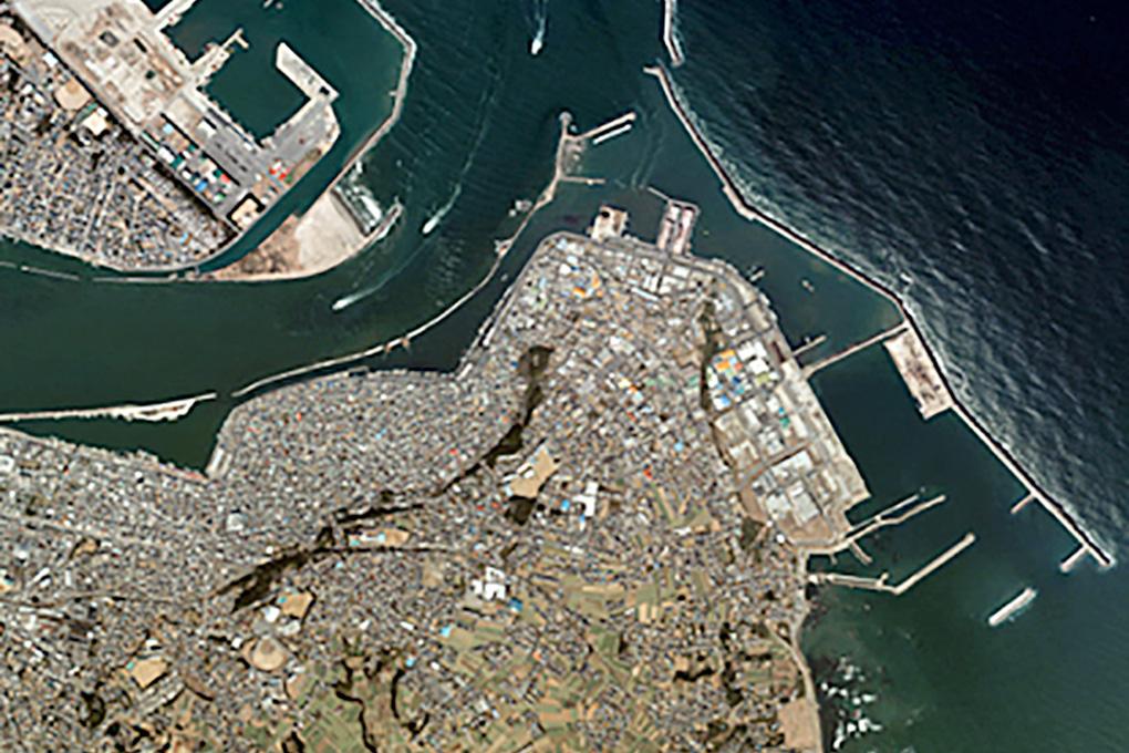 銚子漁港全景