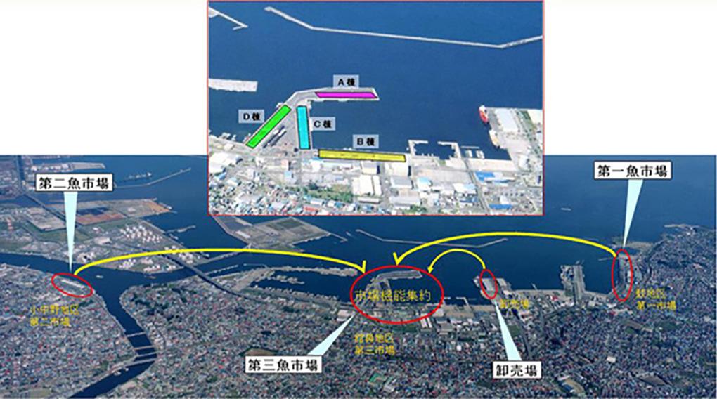 八戸漁港の風景