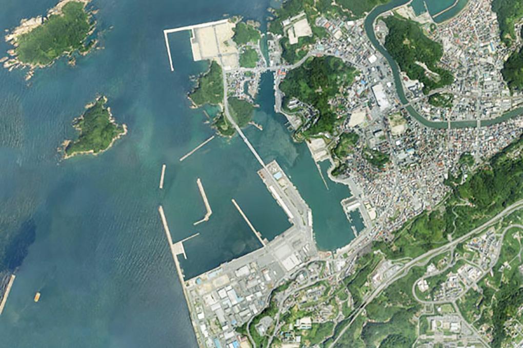 浜田漁港全景