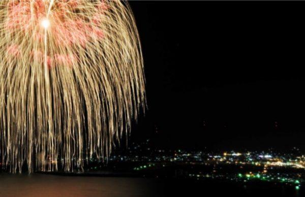 1万発の花火・九州最大の三尺玉花火